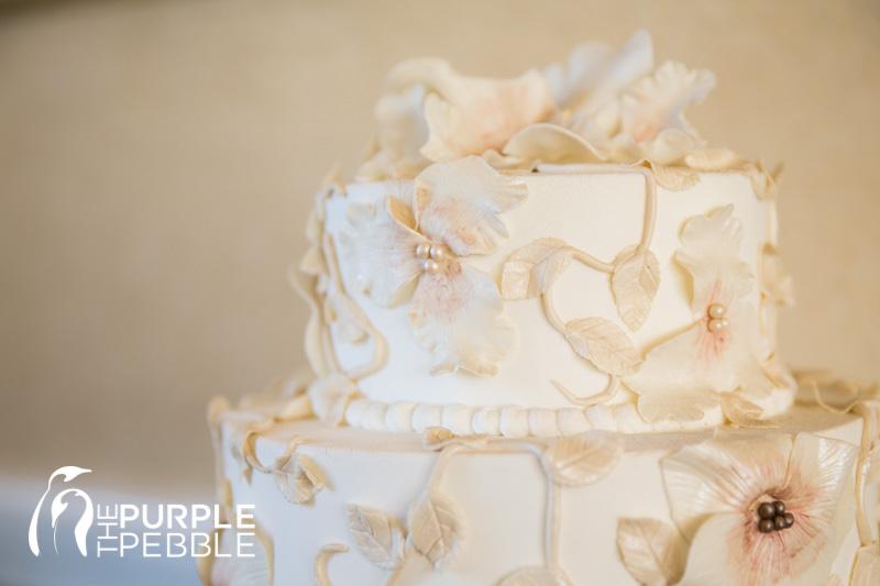 neutral toned wedding cake marquis on magnolia The Purple Pebble
