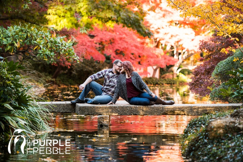 Delicieux Japanese Garden Checkerboard Bridge Fall Engagement Ideas   The Purple  Pebble   Dallas Fort Worth Wedding Photographers