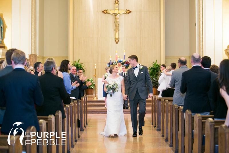 Holy redeemer kensington wedding