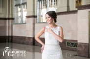 t&p station fort worth bridal portraits