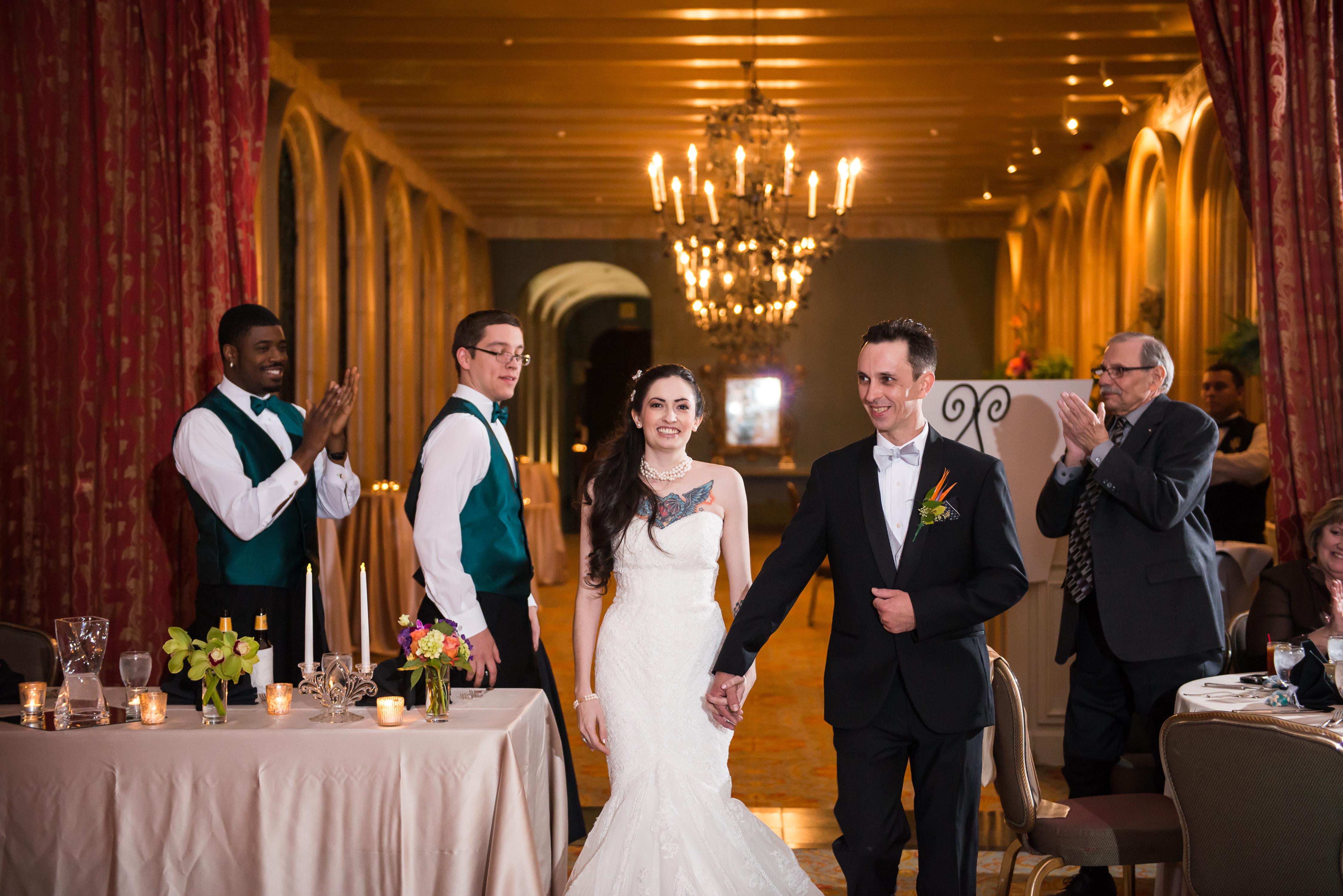 Elegant Wedding Reception Fort Worth Club